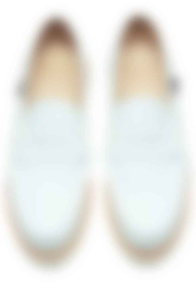 Paraboot White Orsay Moccasins Shoes