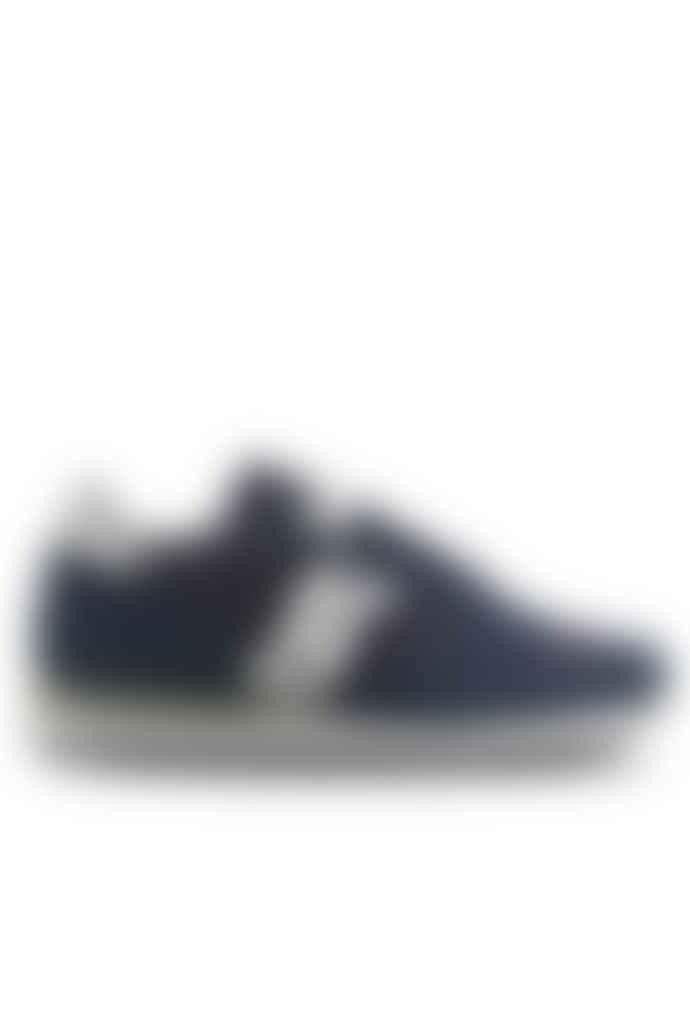 Saucony  Jazz Original Navy Silver Trainers Sneaker
