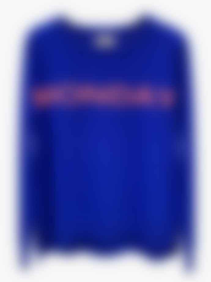 LULU'S LOVE Monday Cashmere Jumper Blue