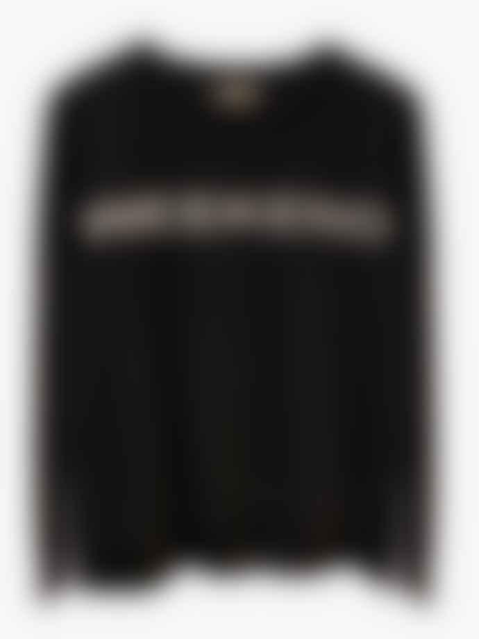 LULU'S LOVE Black Weekend Cashmere Jumper