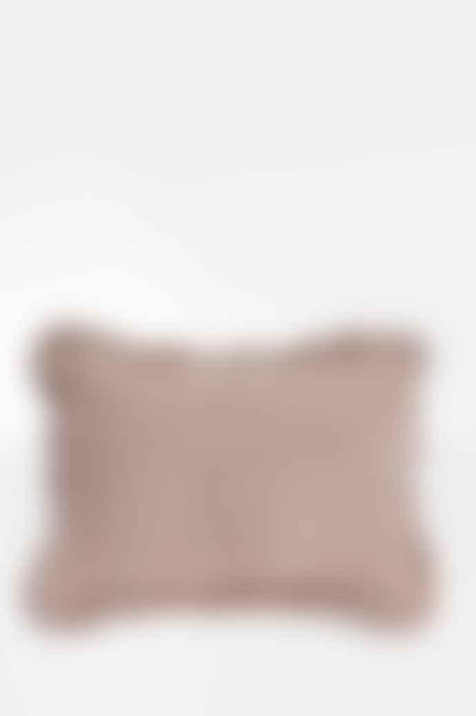 Projektityyny Wes Gingham Cushion In Blush