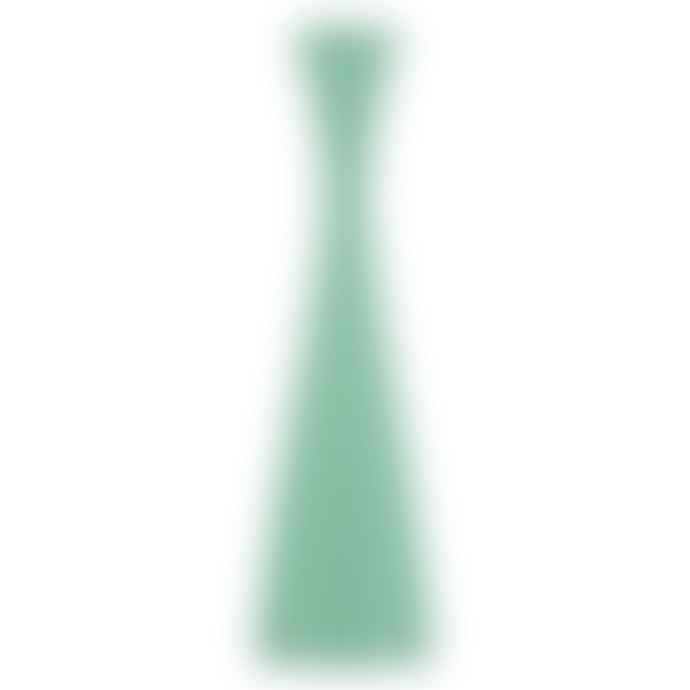 Designs By Colour Tall Opaline Green Candle Holder