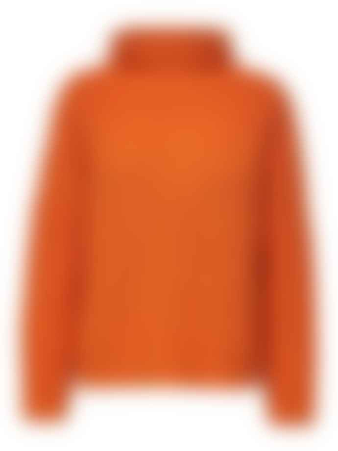 Selected Femme Orange Alberte High Neck Knit