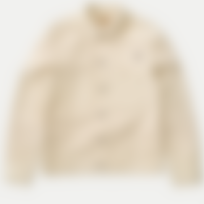 Nudie Jeans Dusty White Ronny Velvet Jacket