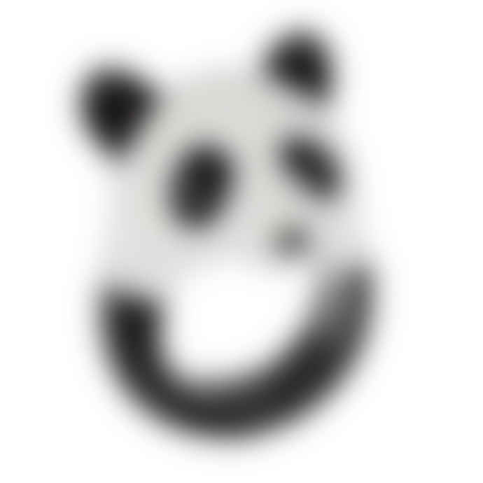 Nach White Porcelain Panda Ring