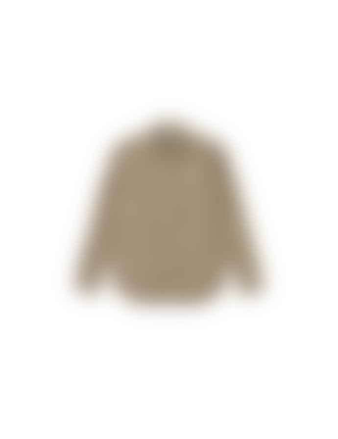 foret Leo Khaki Leopard Print Bear Shirt