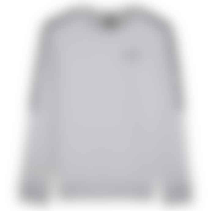 Emporio Armani  Tape Sleeve Crew Sweat Grey