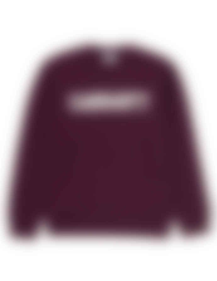 Carhartt Sweatshirt College Sweat Garnet