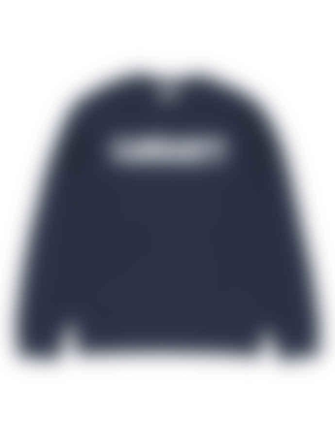 Carhartt Navy Sweat College Sweatshirt