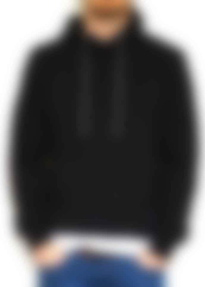 Fresh Cuts Clothing Black SW Pullover Hood No Print