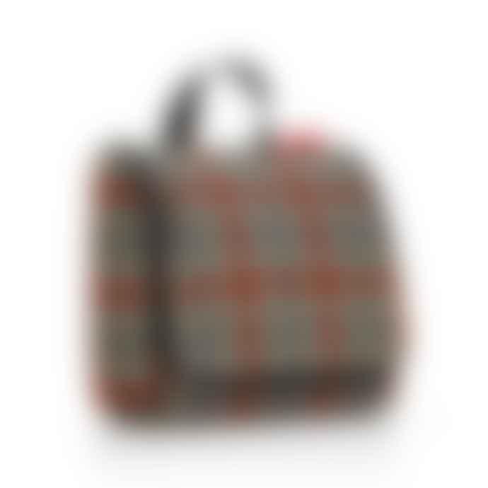 Reisenthel  Glencheck Red Foldable Toilet Bag