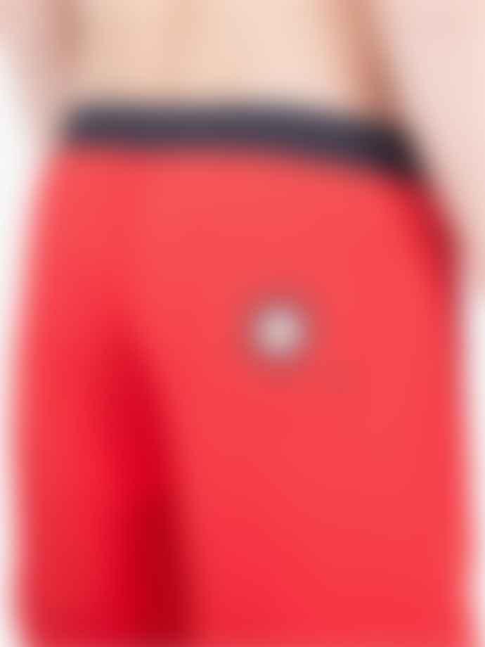 Ben Sherman Dawn Red MG12476-H21 Target Swimshort