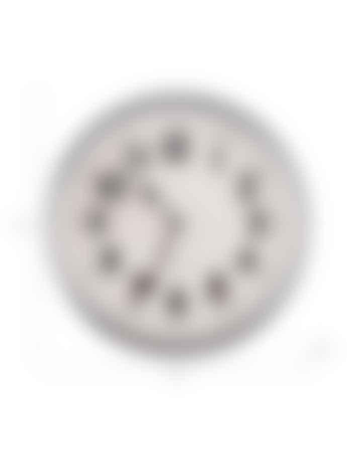 Galvanised Indoor Outdoor Wall Clock