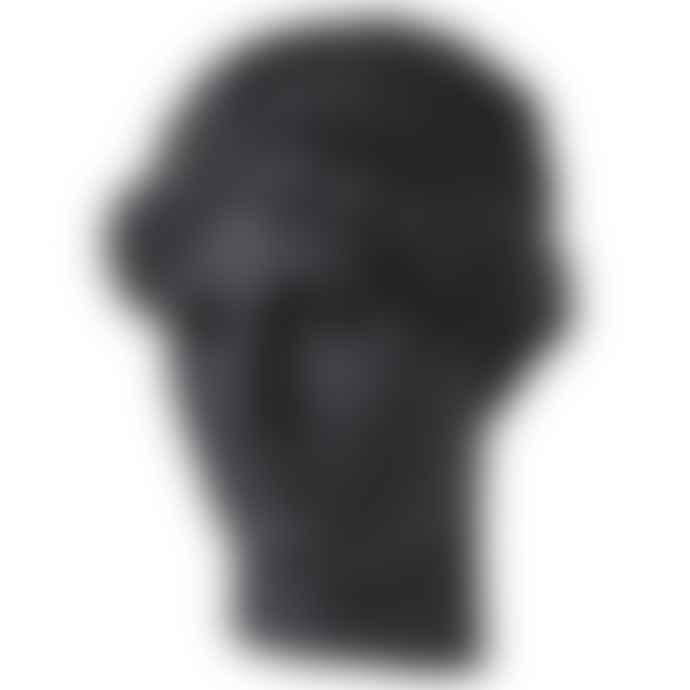 livs Black Resin Classical Aelina Head Wall Decoration