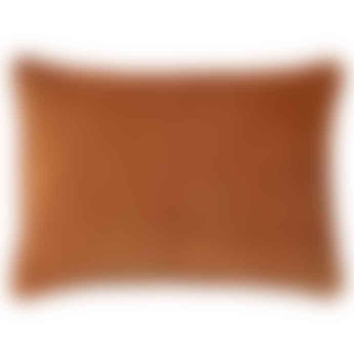 Bungalow 50 x 70cm Red Ochre Rectangular Cushion Cover