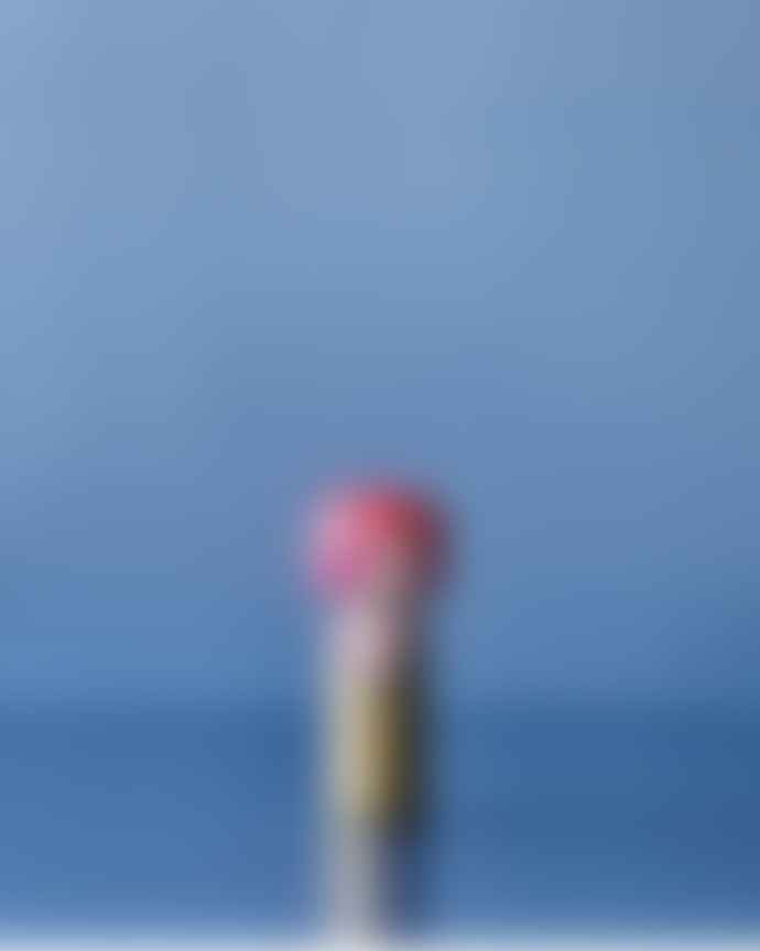 Lucie Kaas Aladdin Sane David Bowie Kokeshi Doll