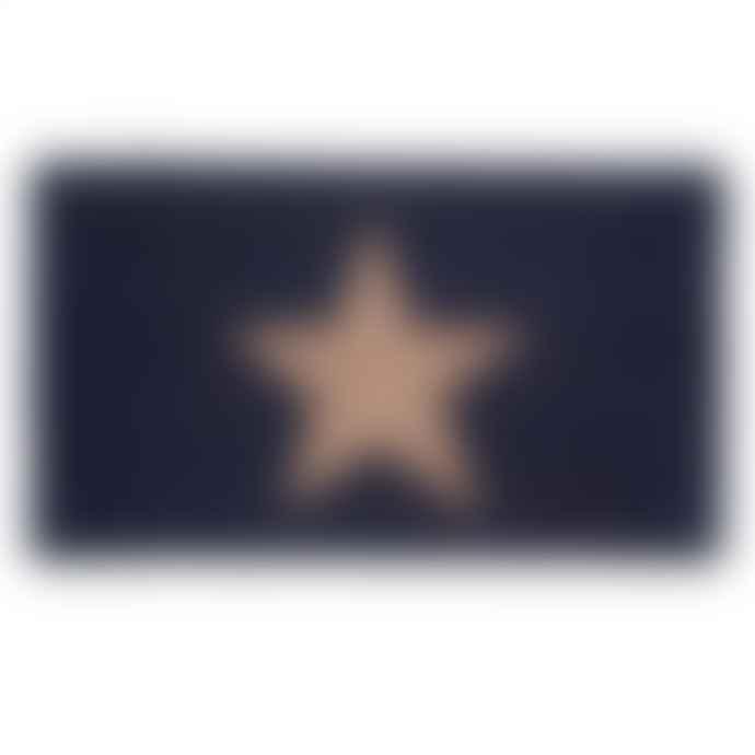 Bombay Duck Copper Star Glitter Door Mat