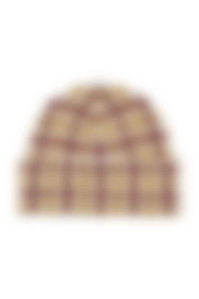 Just Female Harper Brown Knit Hat