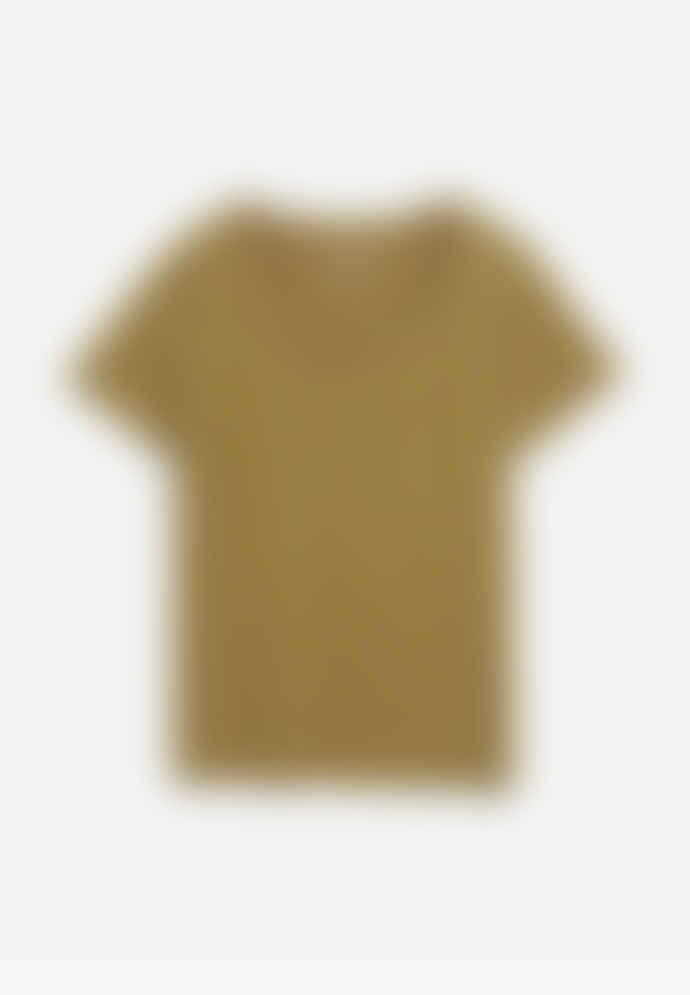 Armedangels Haadia T Shirt Golden Khaki