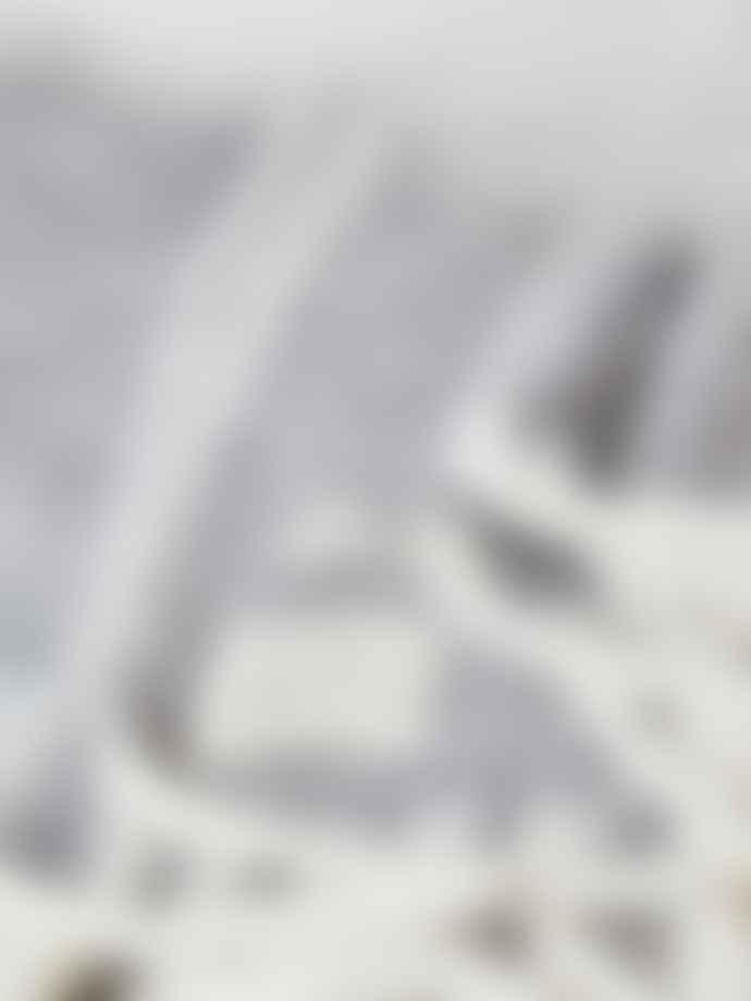 Cozy Living Grey Mohair Herringbone Throw