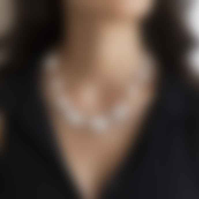 Van Peterson Large Organic Pearl Necklace