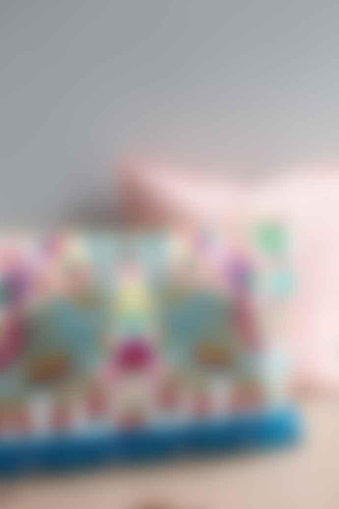 Ian Snow White Dancing Elephant Cushion Cover