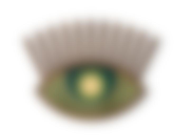 Umasqu Handmade Green Eye Wall Decor