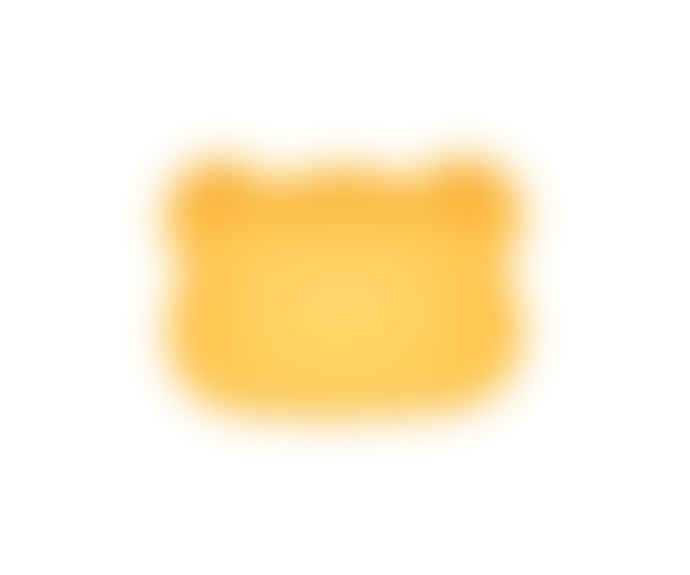We Might Be Tiny  Bear Snackie Yellow Snack Box