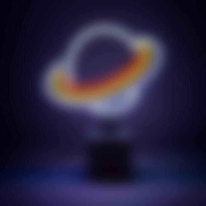 Locomocean Neon Lamp Figure Planet Saturn