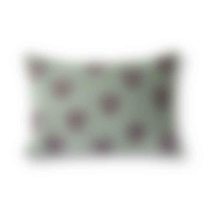 HKliving Jacquard Waeve Greek Column Cushion