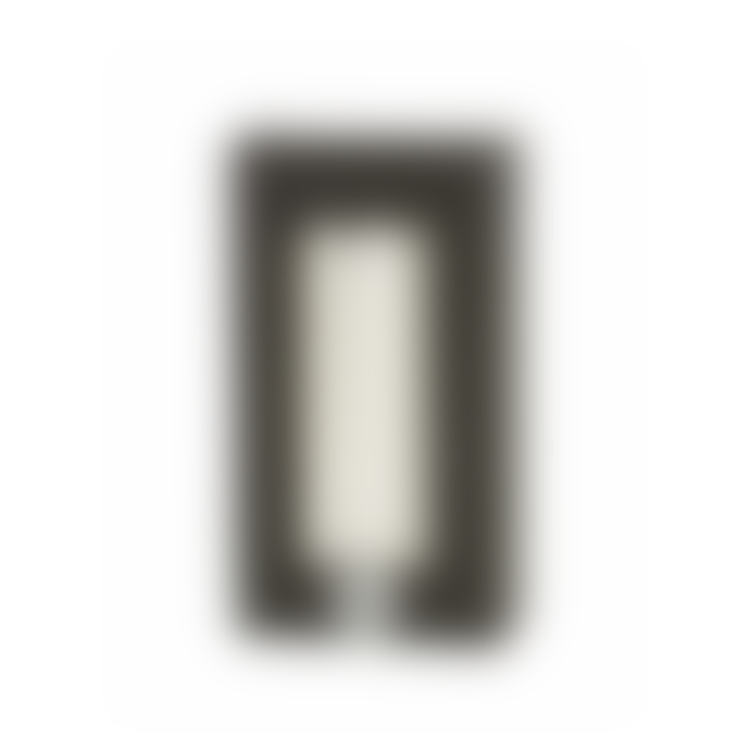 AYTM Marble Frustum Candle Holder + 10 White Candles