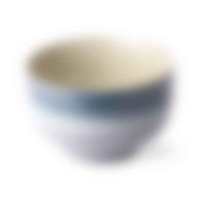 HKliving Ceramic 70's noodle bowls (set of 4)