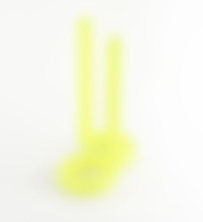 Lex Pott Twist Candle Fluor Yellow