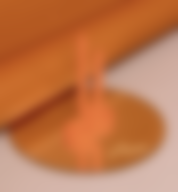 Lex Pott Twist Candle Orange