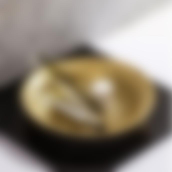 Fundamental.Berlin  Brass Stainless Steel Push Bowl