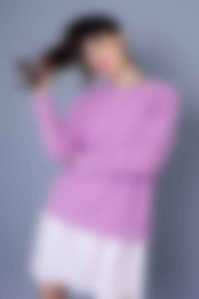 And Less Bambina Dusty Lavender Pullover