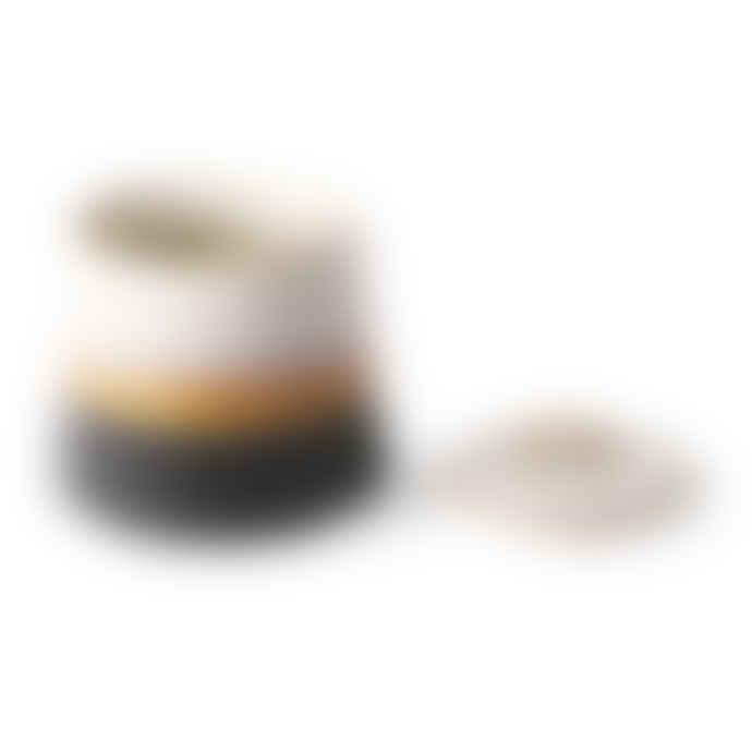 HKliving Ceramic Sugar Pot