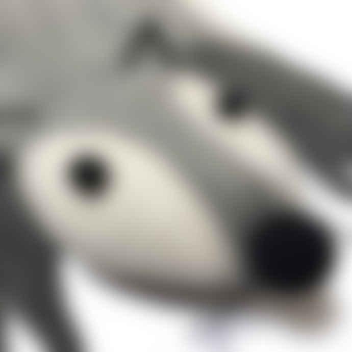 Gamcha Wolf Felt Hanging Rug