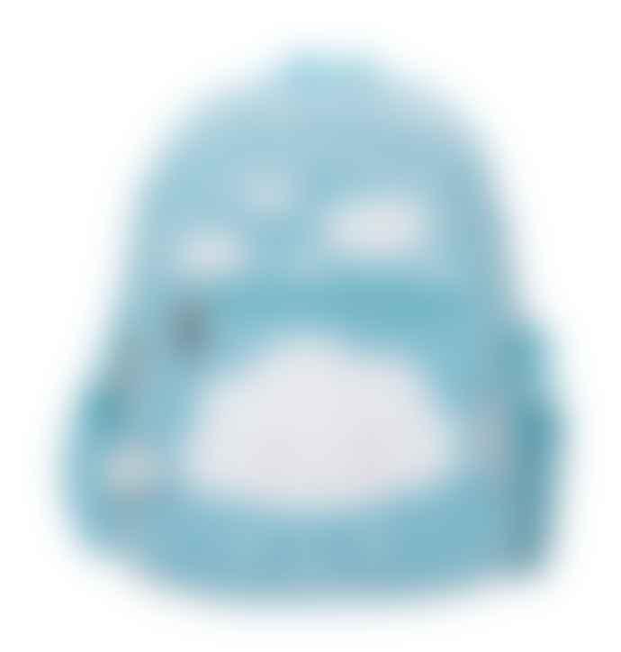 A Little Lovely Company Blue Lovely Cloud Design Backpack