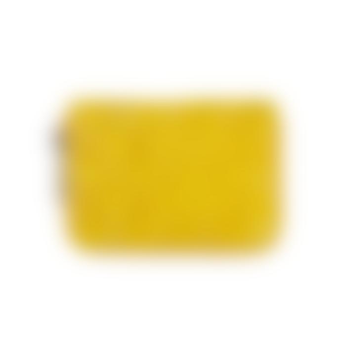Becksondergaard Yellow Braidy Eel Skin Purse