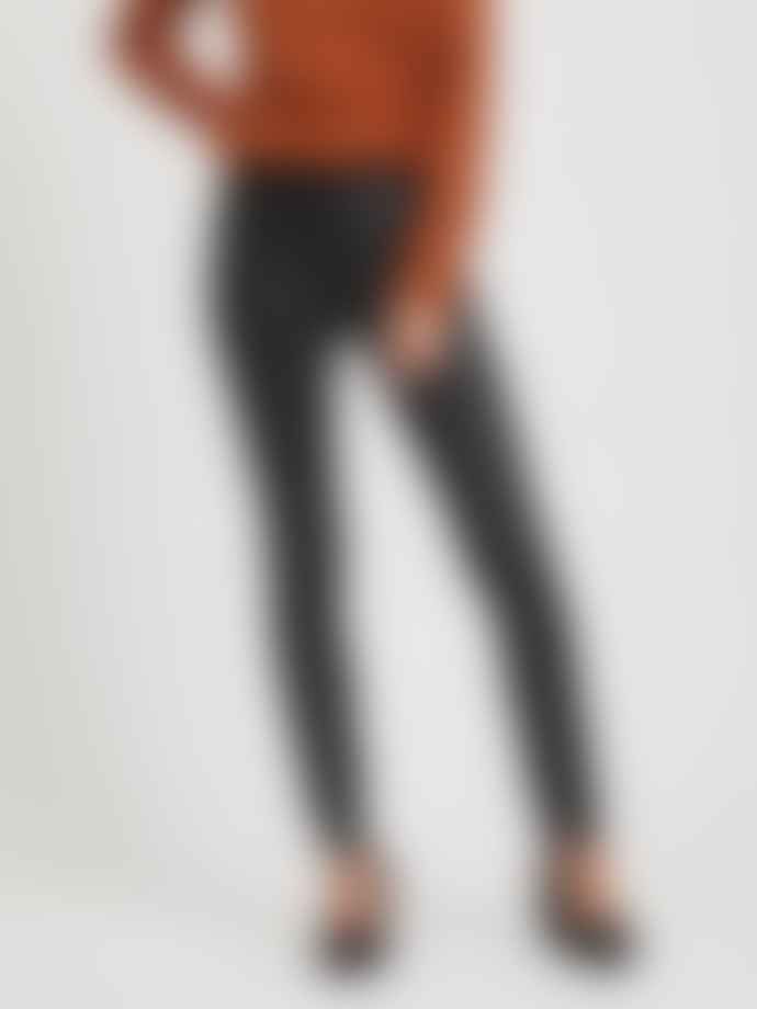 Vila Coated Skinny Fit Jeans