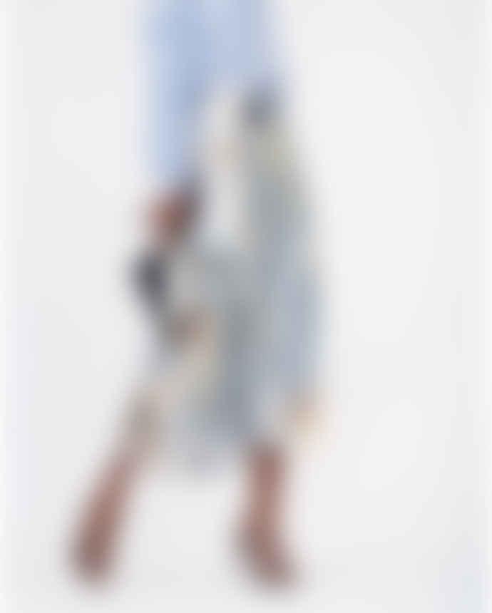 Munthe Blue Eastvale Midi Skirt