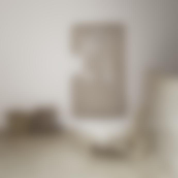 Tine K Home 55 x 35cm Natural Wood Basket