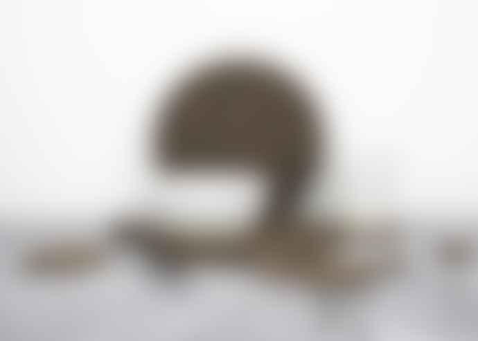 LIGA Smoked Cork Coaster Set
