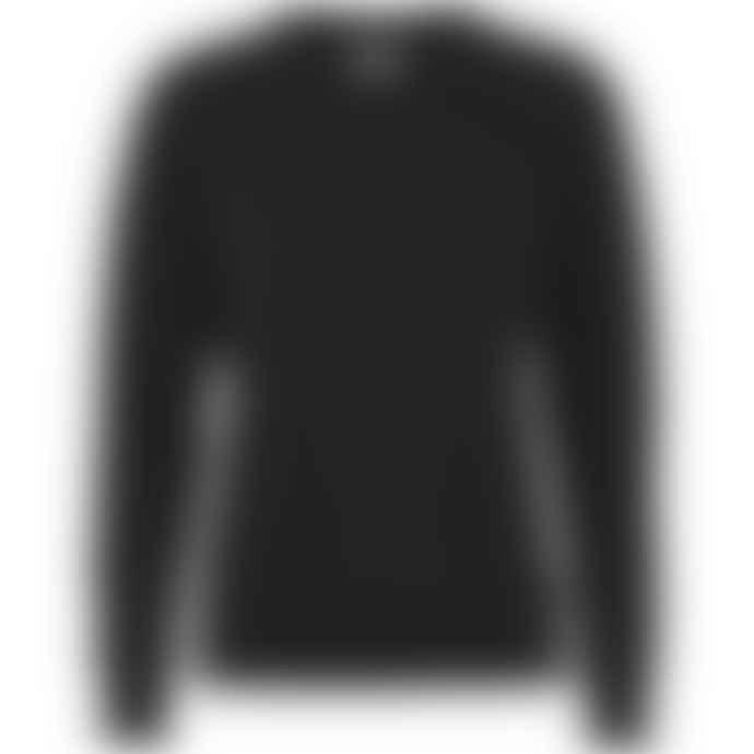 Colorful Standard Sweat Noir En Coton Bio Deep Black