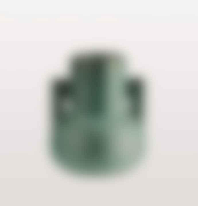 Madam Stoltz Green Terracotta Vase