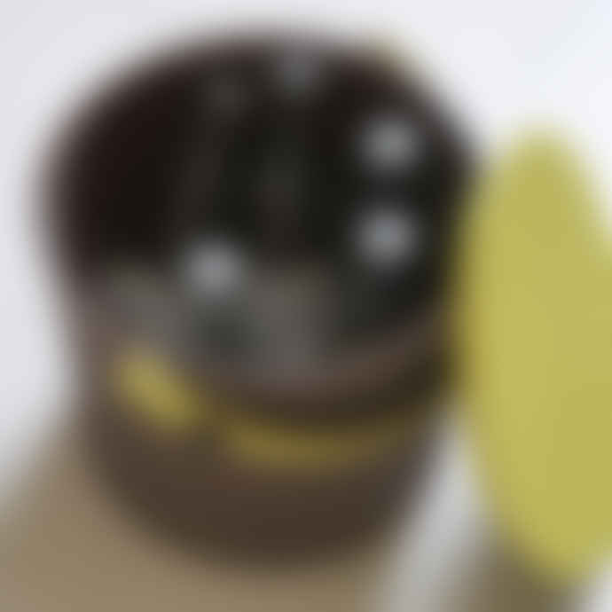 Hachiman Mini Brown Lime Lidded Storage Bucket