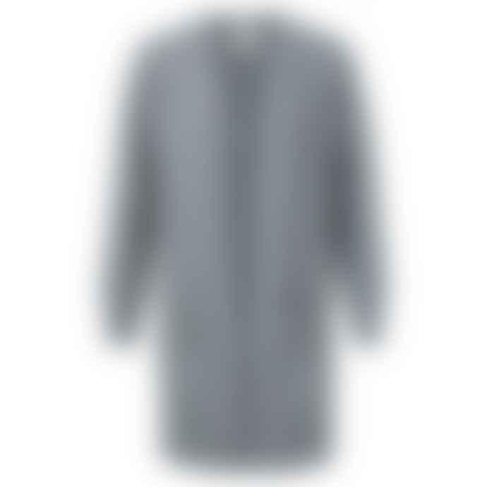 Yaya Cotton Ribbed Cardigan With Folded Pockets