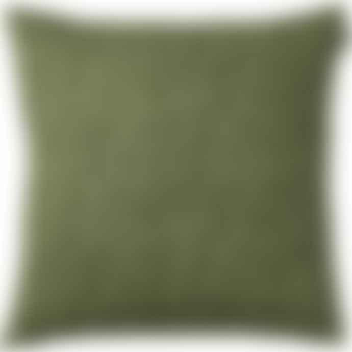 Spira of Sweden Green Art Cushion
