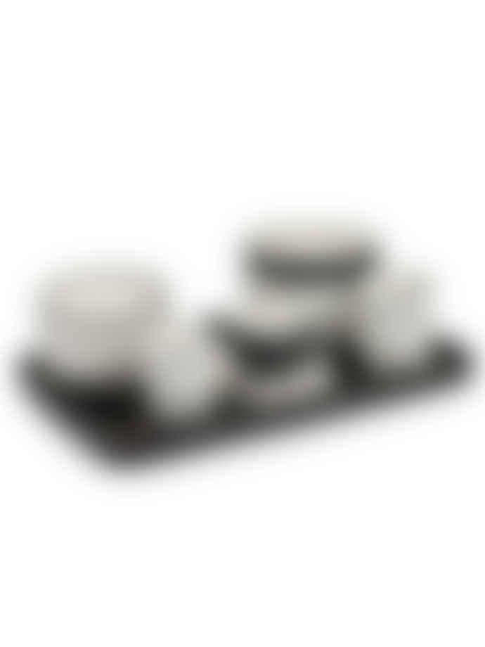 Serax CAPPUCCINO TASSE VVD D8,5 H6 20CL - GLASIERT SCHWARZ